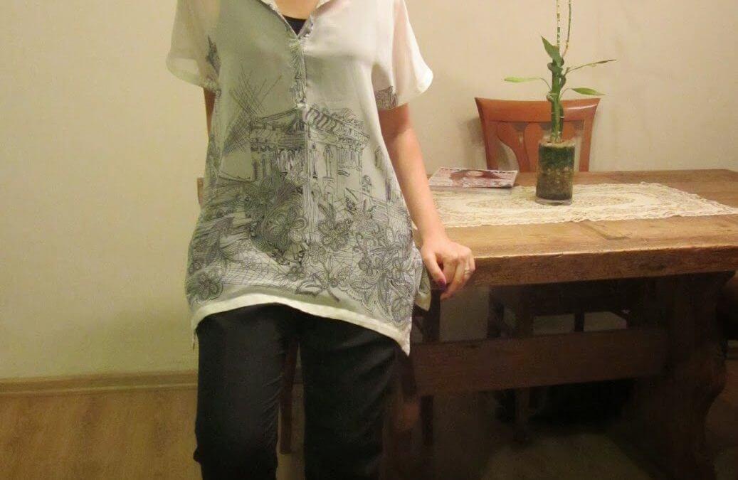 חולצה מצוירת