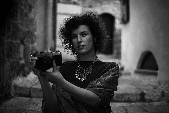 מצלמת שחור לבן