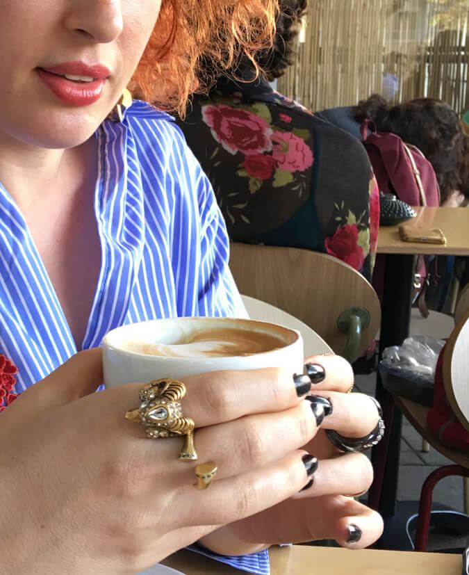 קפה ומאפה מפנק