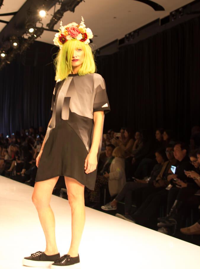 תצוגת האופנה של אנה לוצקי
