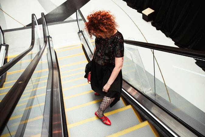 מדרגות נעות