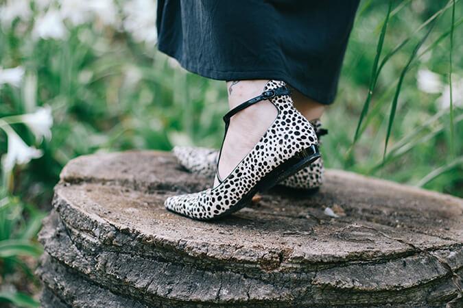 נעליים מנומרות
