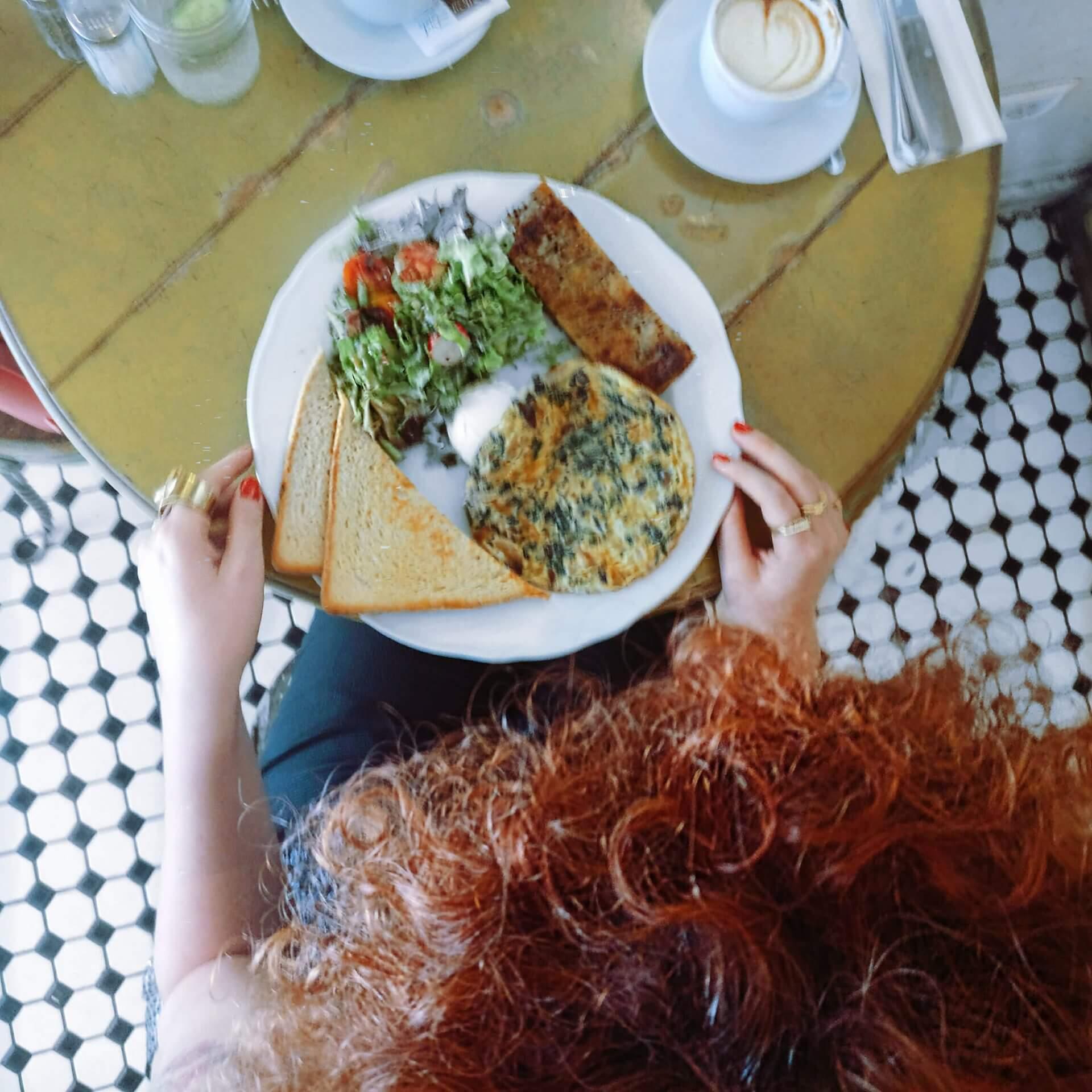 ארוחת בוקר עשירה