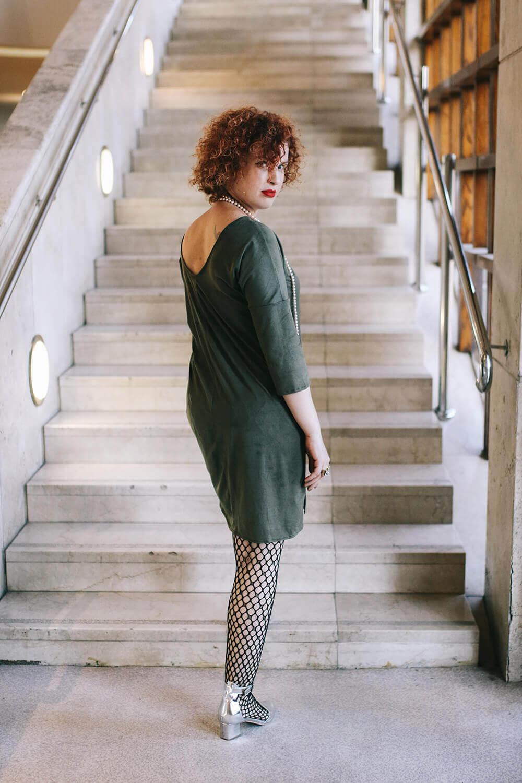 שמלת ערב ירוקה