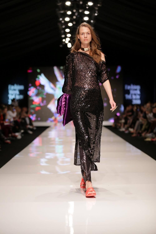 שמלת פיאטים שחורה