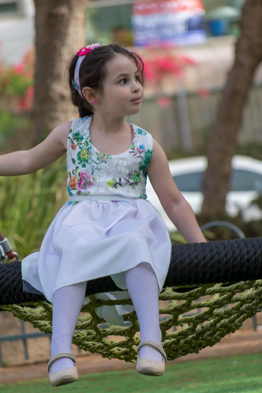 שמלה פרחונית לילדות ממרמדלה מרקט