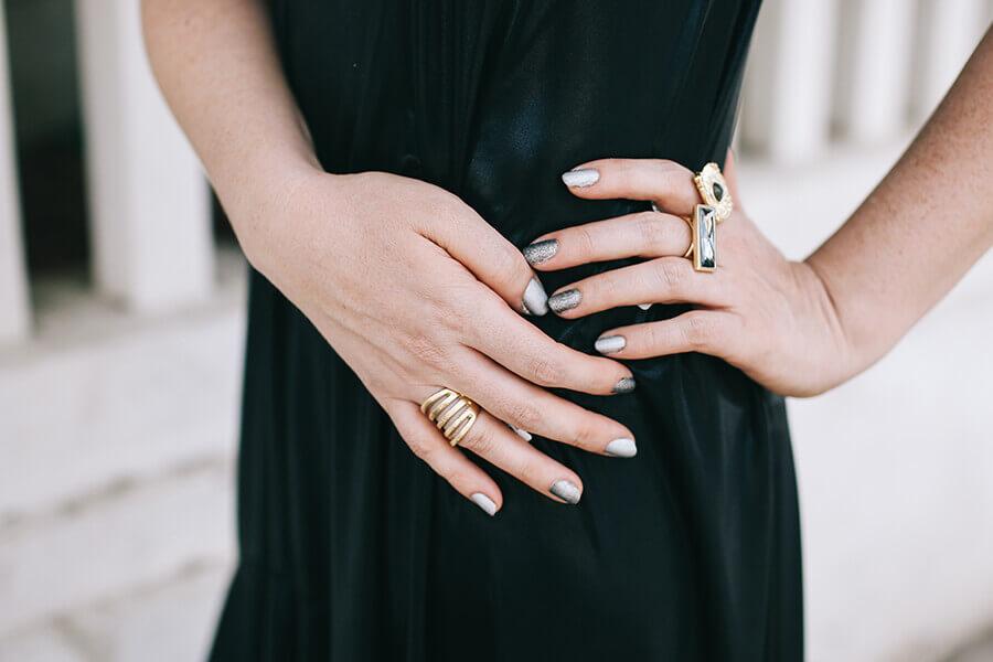 טבעות בציפוי זהב של דנון תכשיטים