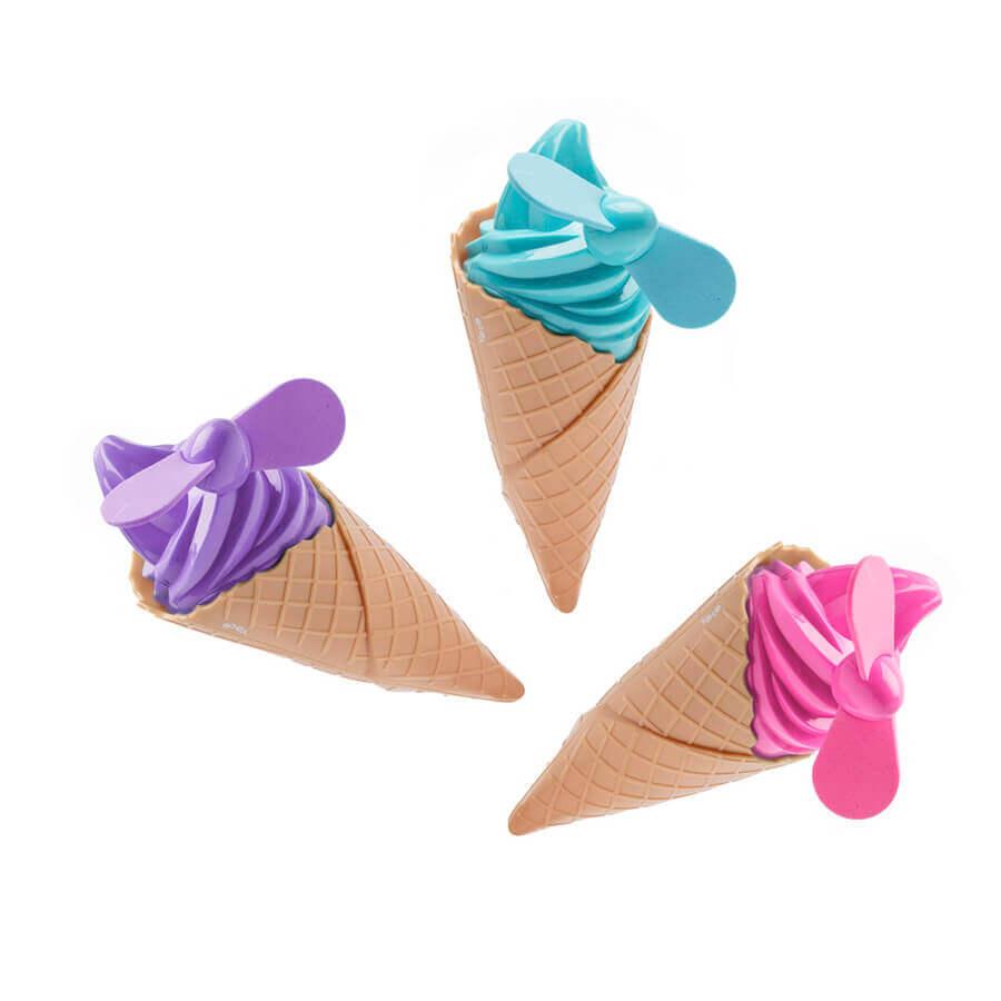 מאווררים בצורת גלידה