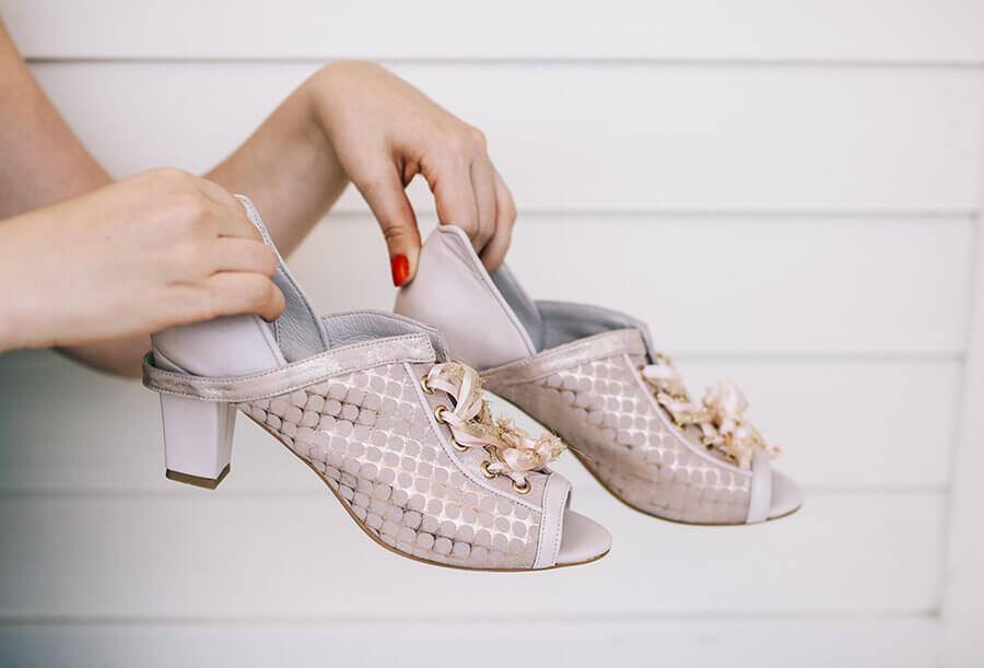 נעלי כלות בעיצוב מיקה דרימר