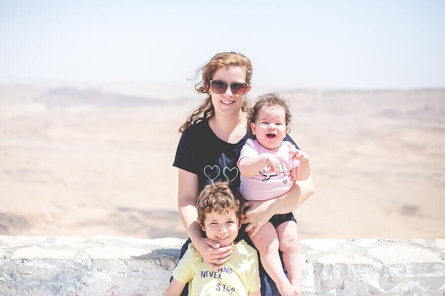 אורטל אקרמן, צילומי משפחה