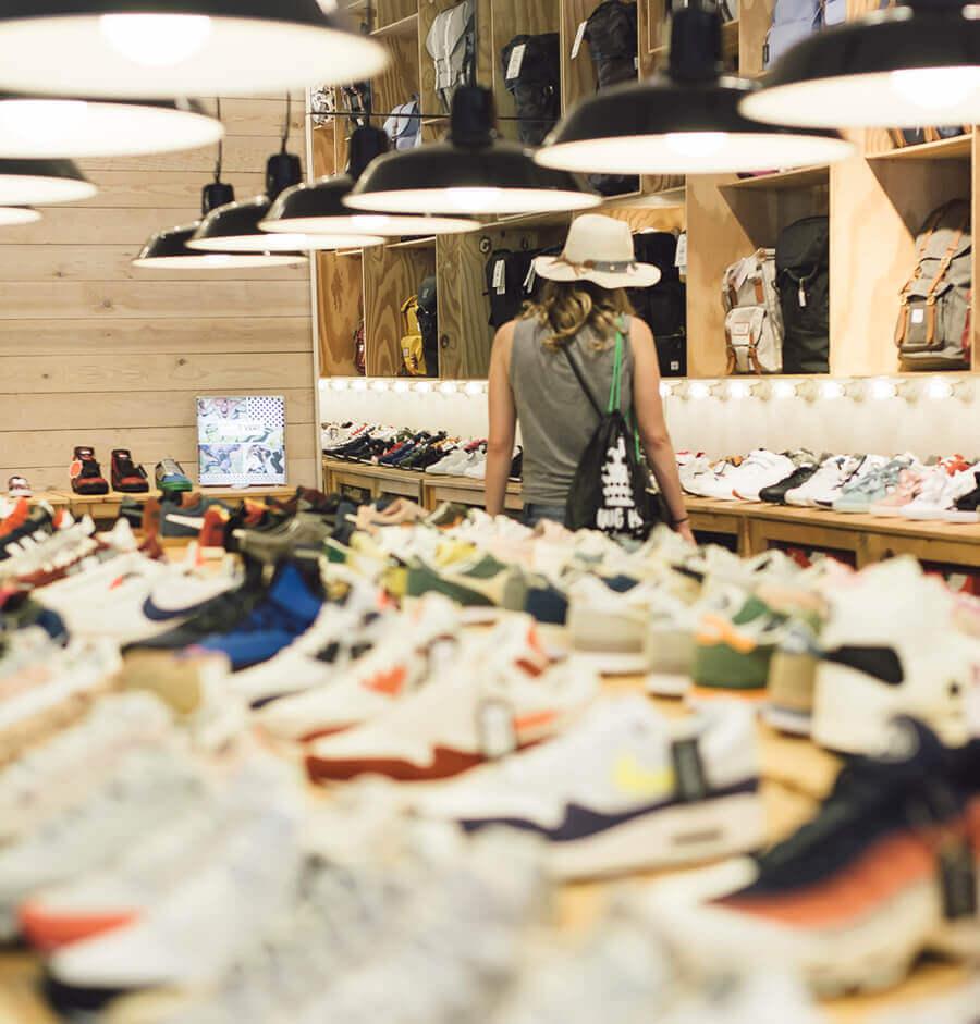 חנות נעליים שווה בברצלונה