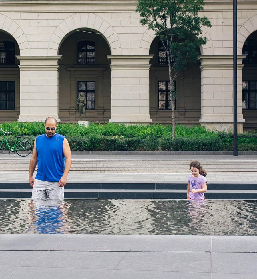 המזרקה בבודפשט