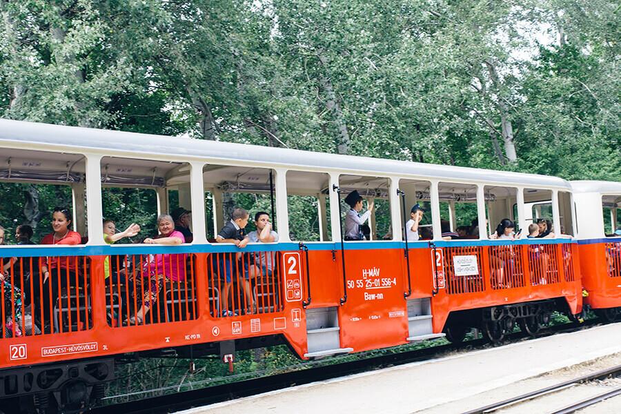 רכבת הילדים בבודפשט