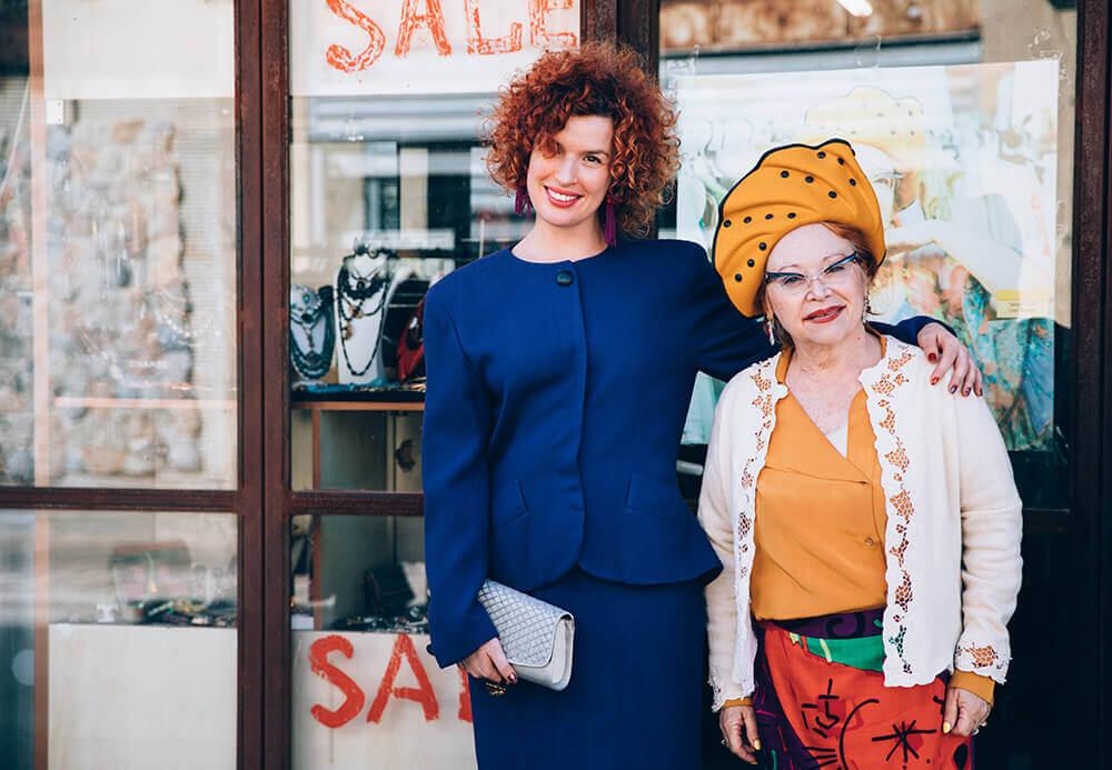 מרופאה כירורגית לבעלת בוטיק אופנה - הסיפור של לוני וינטאג'