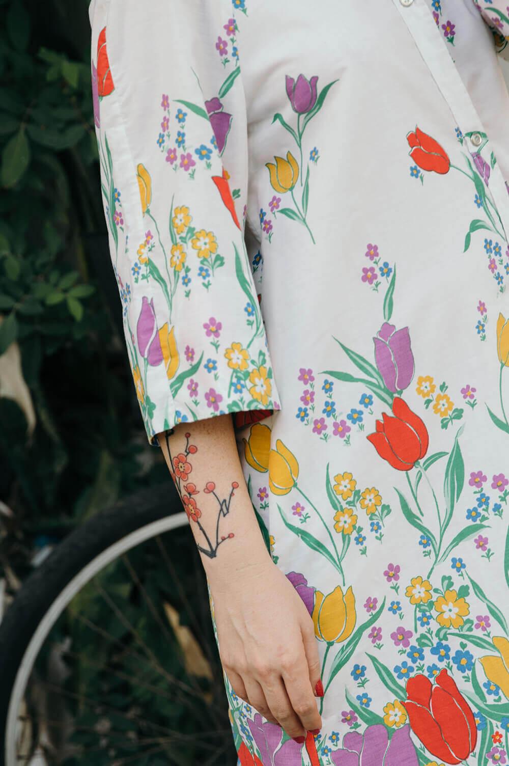 הבגדים למי שאוהבת פרחים