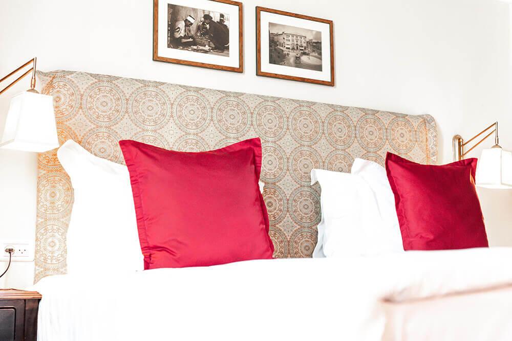 החדרים במלון ארתור בירושלים