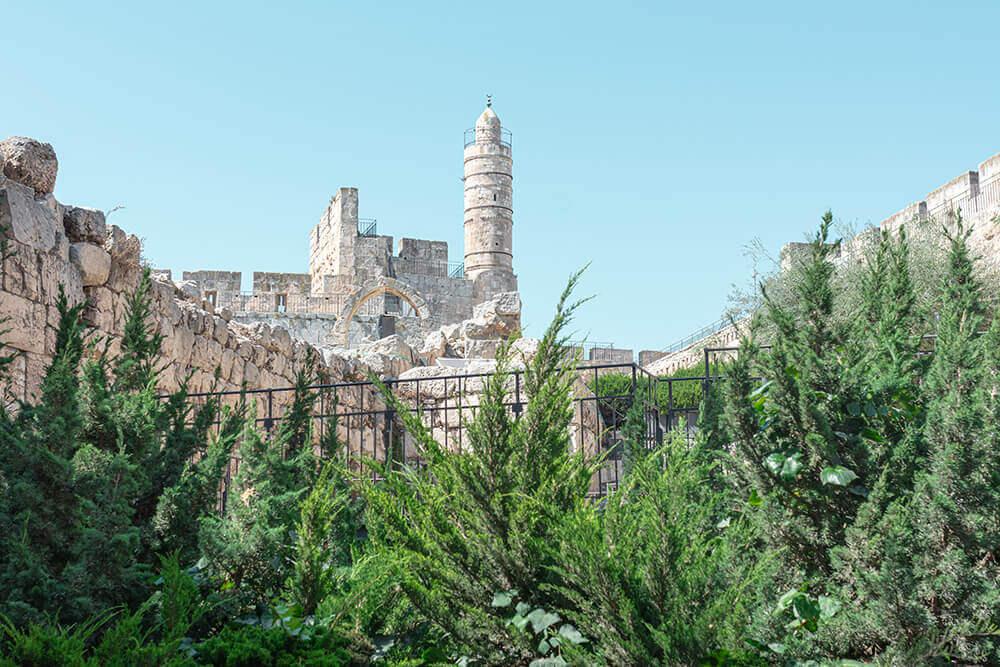 מוזיאון ופארק חבלים במגדל דוד
