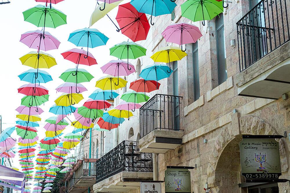 שדרת המטריות בירושלים